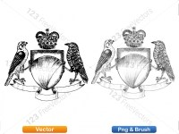 5012010-hand-drawn-sketch-heraldic-coat-of-arms-vector-and-brush-pack-01_p022