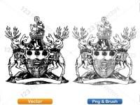 5012010-hand-drawn-sketch-heraldic-coat-of-arms-vector-and-brush-pack-01_p024