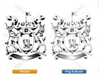 5012010-hand-drawn-sketch-heraldic-coat-of-arms-vector-and-brush-pack-01_p025