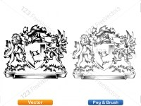 5012011-hand-drawn-sketch-heraldic-coat-of-arms-vector-and-brush-pack-02_p009