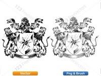 5012011-hand-drawn-sketch-heraldic-coat-of-arms-vector-and-brush-pack-02_p010