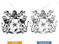 5012011-hand-drawn-sketch-heraldic-coat-of-arms-vector-and-brush-pack-02_p010