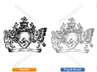 5012011-hand-drawn-sketch-heraldic-coat-of-arms-vector-and-brush-pack-02_p014