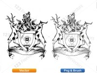 5012011-hand-drawn-sketch-heraldic-coat-of-arms-vector-and-brush-pack-02_p015