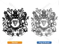 5012011-hand-drawn-sketch-heraldic-coat-of-arms-vector-and-brush-pack-02_p017
