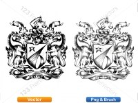 5012011-hand-drawn-sketch-heraldic-coat-of-arms-vector-and-brush-pack-02_p019
