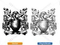 5012011-hand-drawn-sketch-heraldic-coat-of-arms-vector-and-brush-pack-02_p022