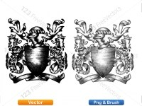5012011-hand-drawn-sketch-heraldic-coat-of-arms-vector-and-brush-pack-02_p022