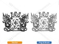 5012012-hand-drawn-sketch-heraldic-coat-of-arms-vector-and-brush-pack-03_p015