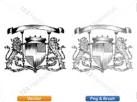 5012012-hand-drawn-sketch-heraldic-coat-of-arms-vector-and-brush-pack-03_p017