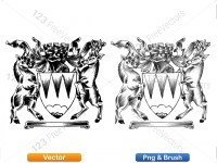 5012013-hand-drawn-sketch-heraldic-coat-of-arms-vector-and-brush-pack-04_p003