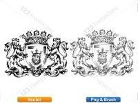 5012013-hand-drawn-sketch-heraldic-coat-of-arms-vector-and-brush-pack-04_p019
