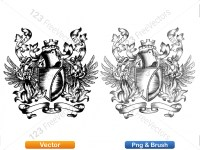5012013-hand-drawn-sketch-heraldic-coat-of-arms-vector-and-brush-pack-04_p020