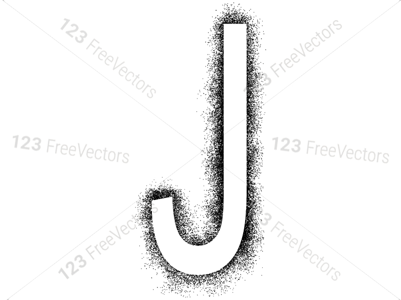Spray Paint Alphabet Vector and Photoshop Brush Pack-01