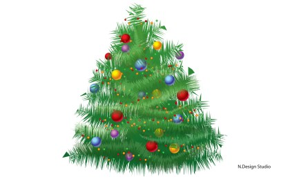 Christmas Tree Free Vector