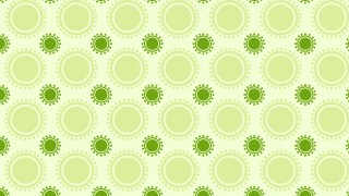 Light Green Circle Pattern Background