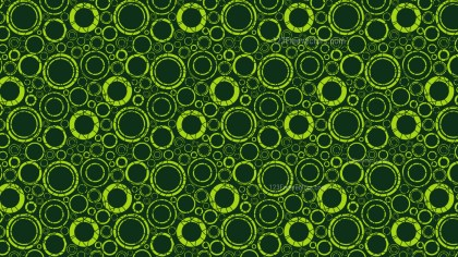 Dark Green Circle Background Pattern