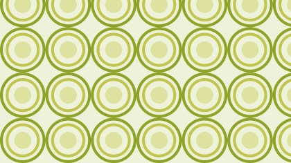Light Green Circle Pattern Graphic