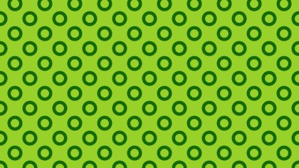 Green Geometric Circle Pattern Image