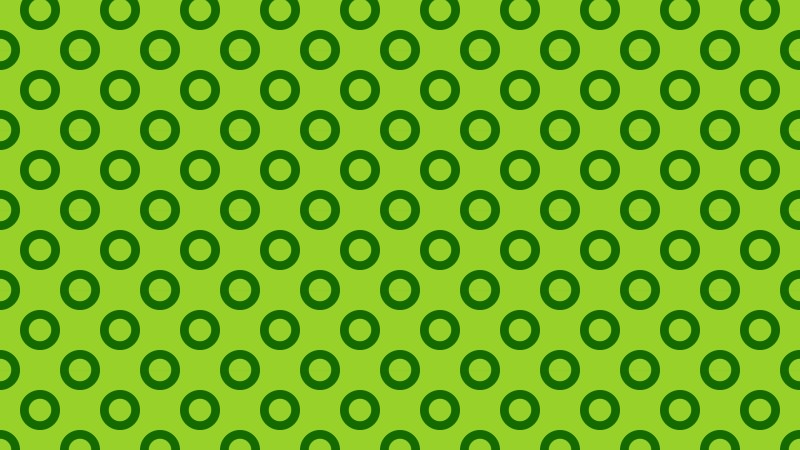 Green Geometric Circle Pattern Image
