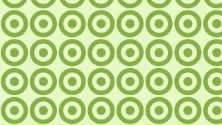 Light Green Seamless Geometric Circle Pattern Background Graphic