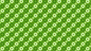 Green Circle Pattern