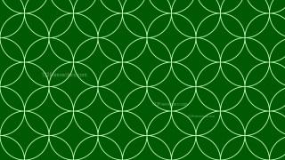 Dark Green Seamless Overlapping Circles Pattern Background Illustrator