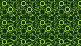 Dark Green Geometric Circle Pattern Vector Illustration