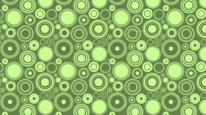 Green Geometric Circle Background Pattern Vector Art