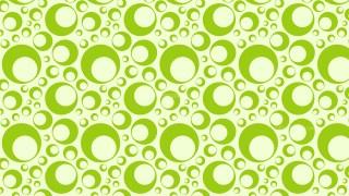 Light Green Seamless Circle Pattern Background Illustration