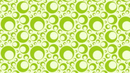 Light Green Seamless Circle Pattern Background Illustration