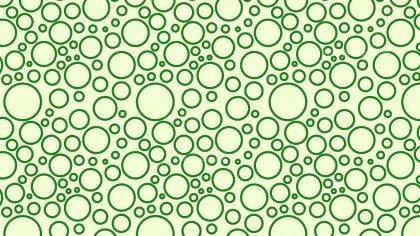 Light Green Seamless Geometric Circle Background Pattern Vector Image