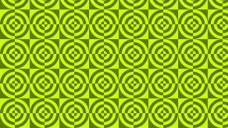 Green Seamless Quarter Circles Background Pattern