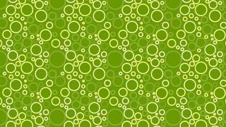 Green Geometric Circle Background Pattern