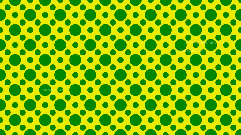 Green Circle Pattern Background Vector Art