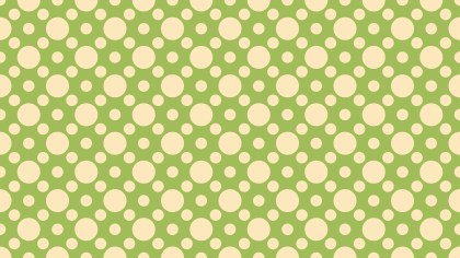 Green Circle Background Pattern Graphic