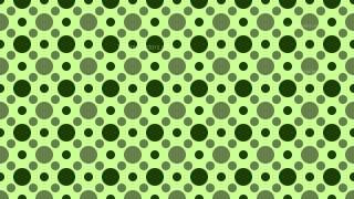 Green Geometric Circle Pattern Background Design