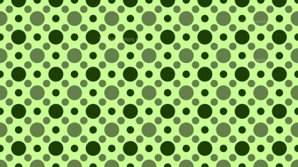 Green Geometric Circle Pattern Background Design