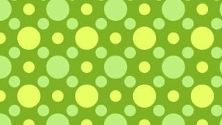 Green Geometric Circle Background Pattern Image