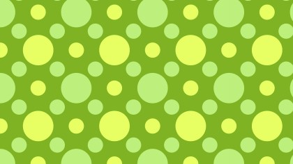 Green Geometric Circle Background Pattern Image