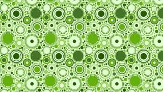 Green Random Circles Background Pattern Design