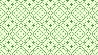 Light Green Overlapping Circles Pattern Illustrator