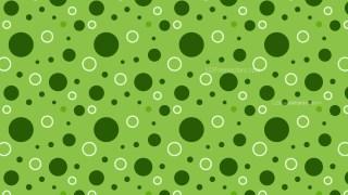 Green Circle Pattern Design