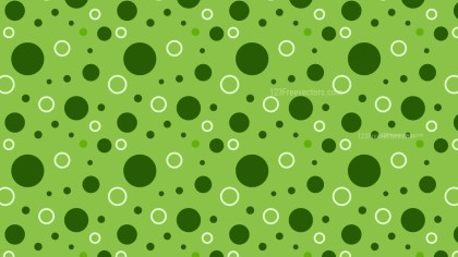 Green Circle Pattern Design