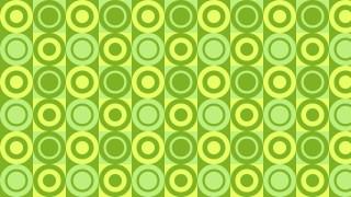 Green Geometric Circle Pattern Background Illustrator