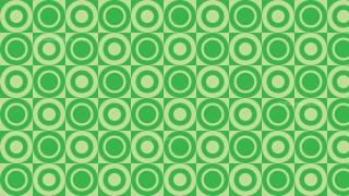 Green Geometric Circle Background Pattern Vector Illustration