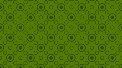Dark Green Seamless Geometric Circle Background Pattern Image