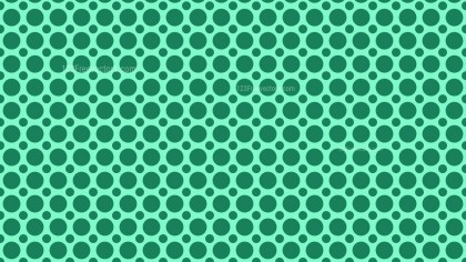 Mint Green Seamless Geometric Circle Pattern