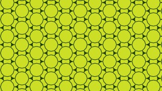 Green Seamless Circle Background Pattern Vector Graphic