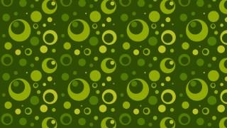 Dark Green Seamless Geometric Circle Background Pattern Vector Illustration